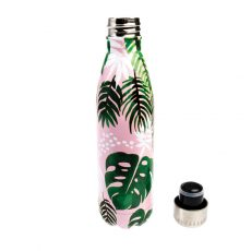 TERMOBUTELKA STALOWA 500 ML, TROPICAL PALM, REX LONDON